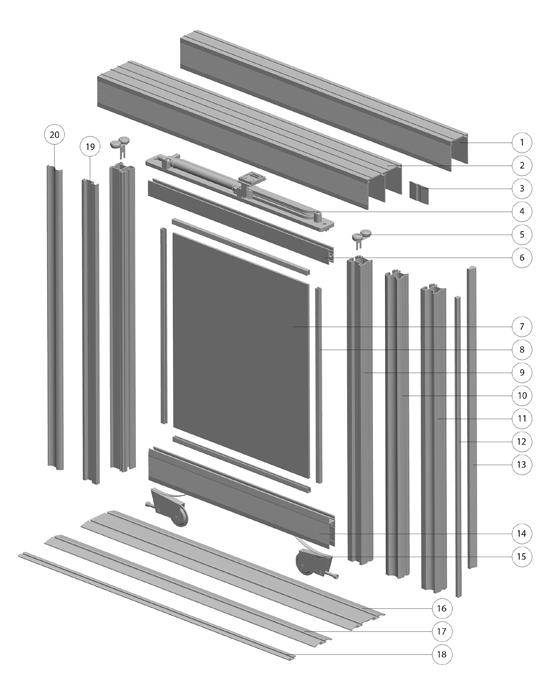 Sistem drsnih vrat